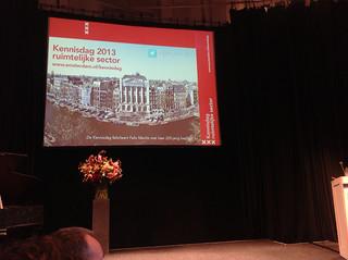 Amsterdam Kennisdag Ruimtelijke Ordening 2013