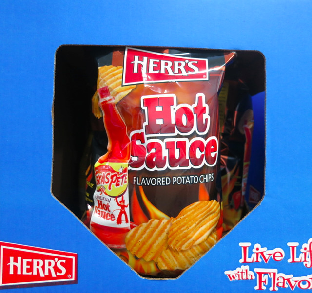 Texas Pete Hot Sauce: Odd Flavored Potato Chips by Herr's