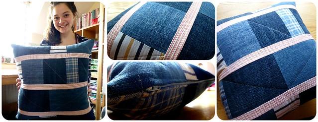 Shannon's Denim Cushion