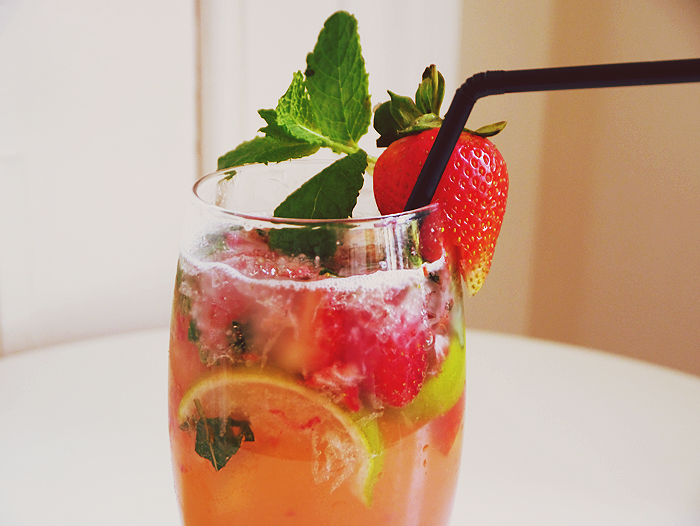 cocktail hour strawberry mojito recipe 1