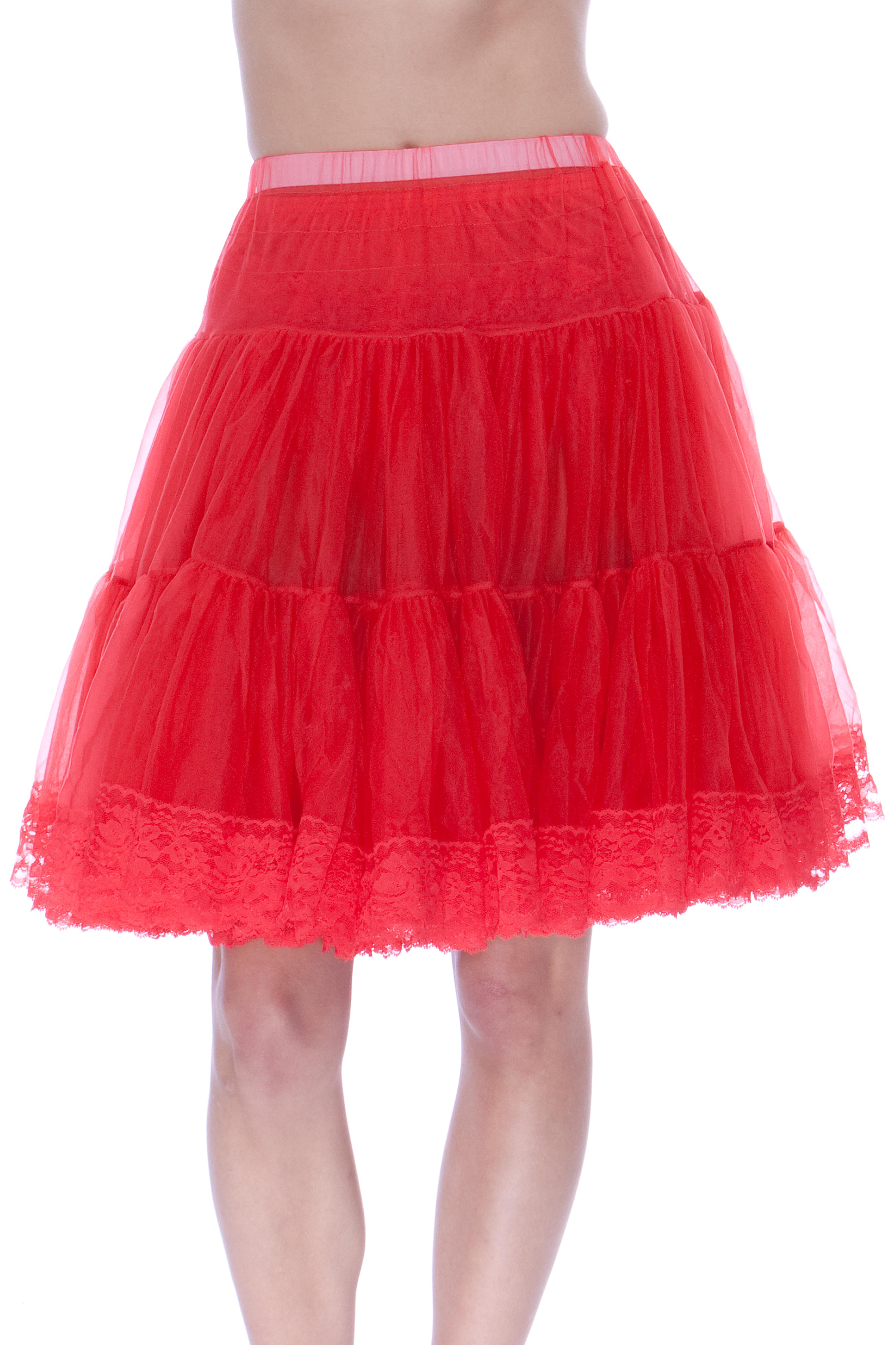 how to make a chiffon petticoat
