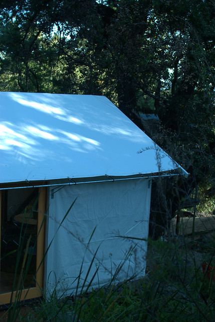 House of 3 cabin tents sonoma county ca an album on for Permanent tent cabins