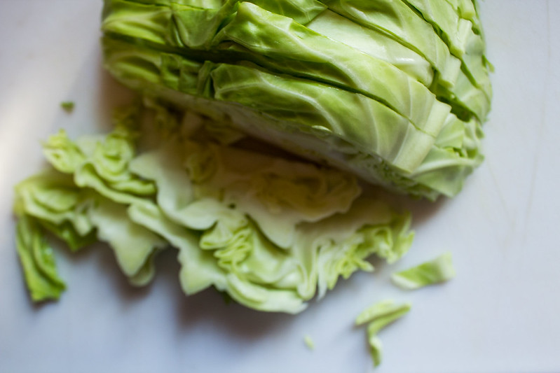 layers of cabbage