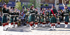 SCOTS Band in Gibraltar