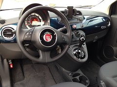 Fiat 500 Pop dashboard