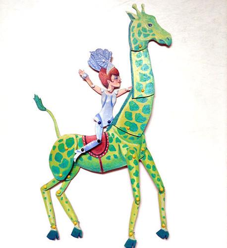 printable paper giraffe