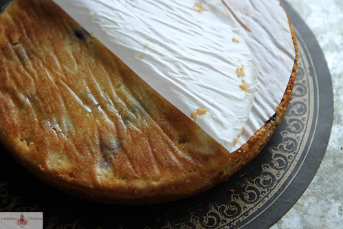 Cherry Almond Buttermilk Cake - Heather Christo