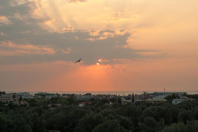 Потрясающий восход, снятый сегодня утром моей любимой :)