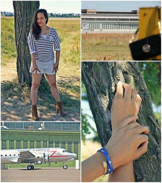 Stripes and Shorts collage I StylebyCharlotte.com