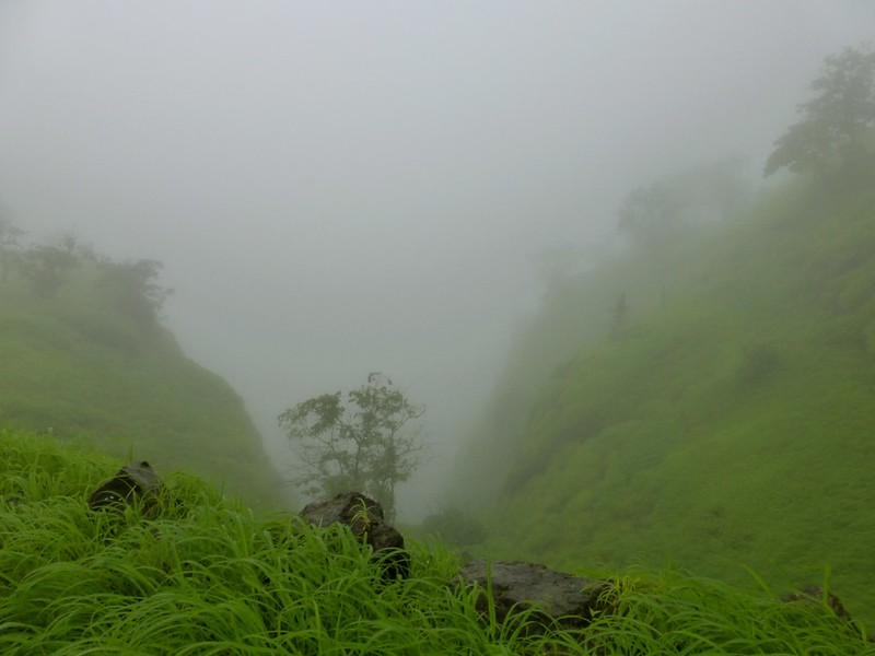 Kangorigad / Mangalgad Trek - The descent