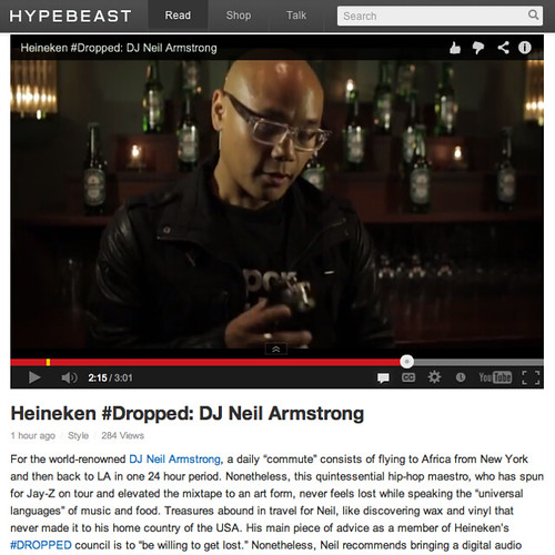 The Heineken #Dropped Essential for the Heineken Voyage via Hypebeast.com