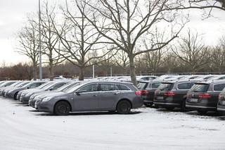 Opel beim simTD-Feldversuch