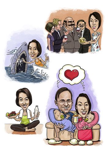 digital caricature montage 25072013