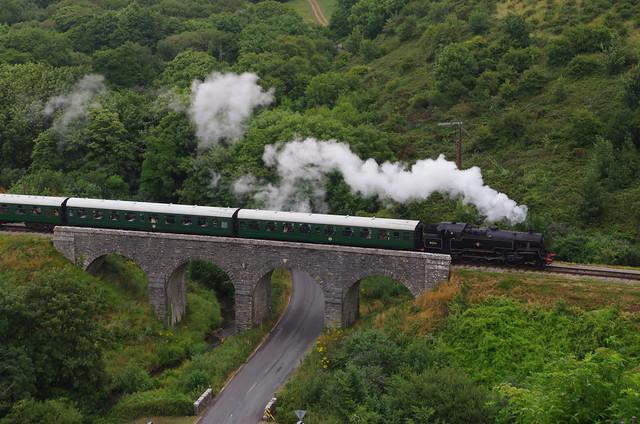 80104, Ex-BR 2-6-4T Class 4MT, Corfe, 30th July 2013