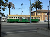 San Francisco Municipal Railway 496 Near Ferry Building 8-25-12 by Muni Fan 178