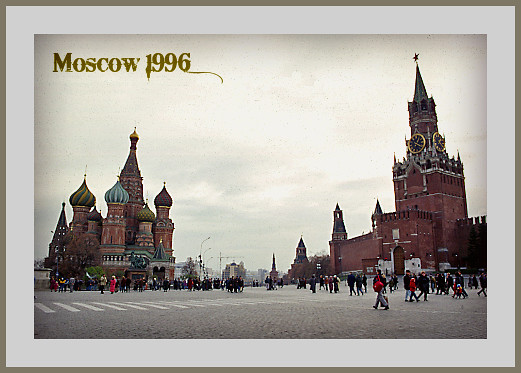 Red Square, Moscow 1996
