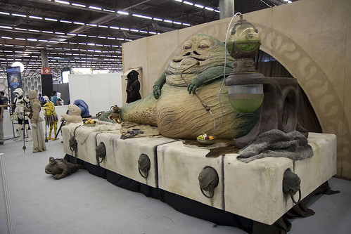 Jabba the Hutt à la Japan Expo 2013