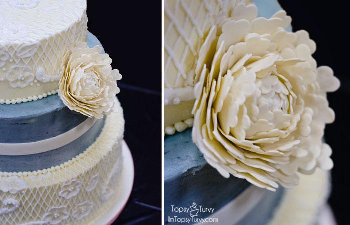 buttercream-lace-wedding-cake-gumpaste-peony