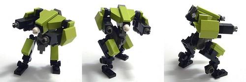 Как сделать робота военного из лего 484