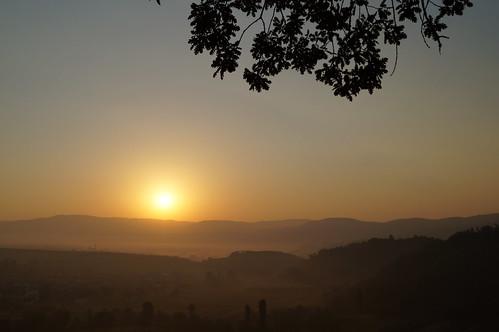 kosovo sonnenaufgang topanica