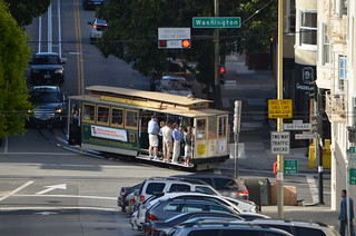MUNI Powell Mason Line - San Francisco - Mason and Washington - August 16, 2013  (2)
