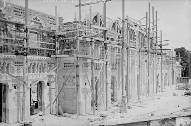 Estación de Ferrocarril de Toledo el 23 de junio de 1915 © Archivo Histórico Ferroviario del Museo del Ferrocarril de Madrid. Fotografía de F. Salgado. Signatura 0433-IF MZA 0-2