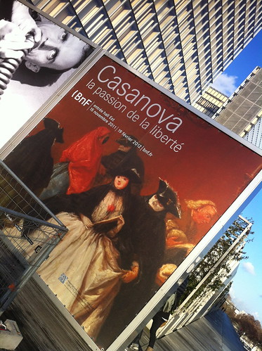 BnF exposition Casanova
