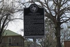 Photo of William P. Hobby black plaque