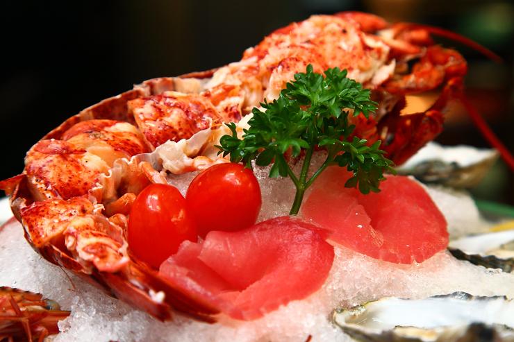Lobster-Tuna-Sashimi