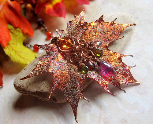 Sylvan Leaves - Electroplated Leaf Jewelry