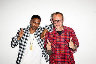 BIG SEAN AND NAYA RIVERA TERRY RICHARDSON PHOTO SHOOT