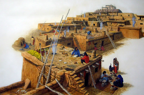 """The Indian village"" by Mike Lamble"