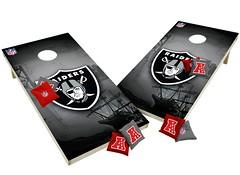 Oakland Raiders Custom Cornhole Boards XL