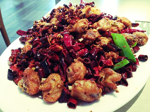 Chongqing Chili Sichuan Chicken at Dainty Sichuan, Melbourne