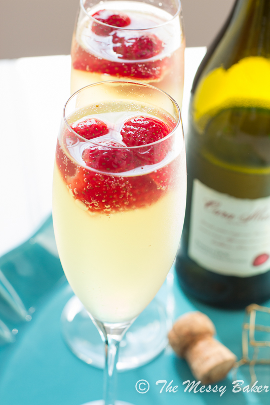 Strawberry Limoncello Sparkler | www.themessybakerblog.com -8562