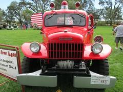 1949 Dodge Power Wagon Fire Engine 'Napa State Hospital Fire Dept. #4' 2