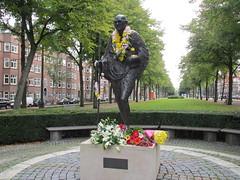 Amsterdam Gandhibeeld Churchillaan