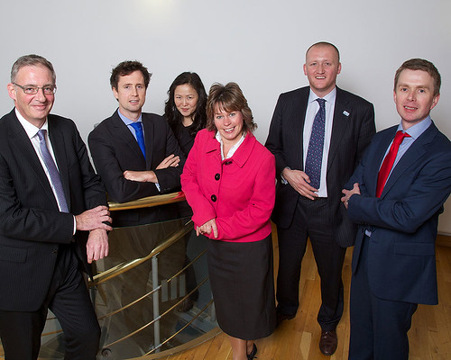 (L to R) Paul Fletcher, Andrew Huntbatch, Robbin Mackay, Michelle R Thomson, Iain McGill and Steven Mitchell at Scottish Independence Debate, Edinburgh 10 October 2013