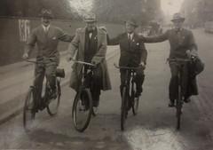 Four Gentlemen in Copenhagen 1930s