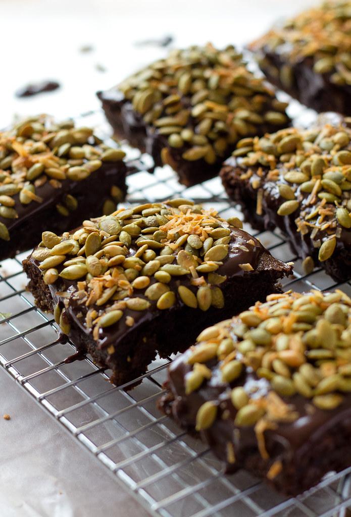 Chocolate Cake with Cocoa Buttermilk Ganache