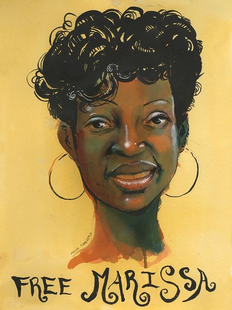 A portrait of Marissa Alexander