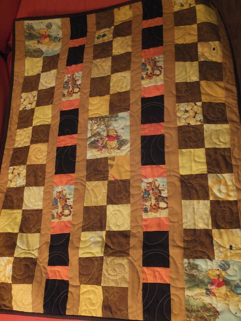 Winnie-the-Pooh Baby Quilt