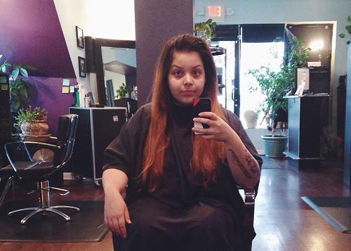 pre-new hair