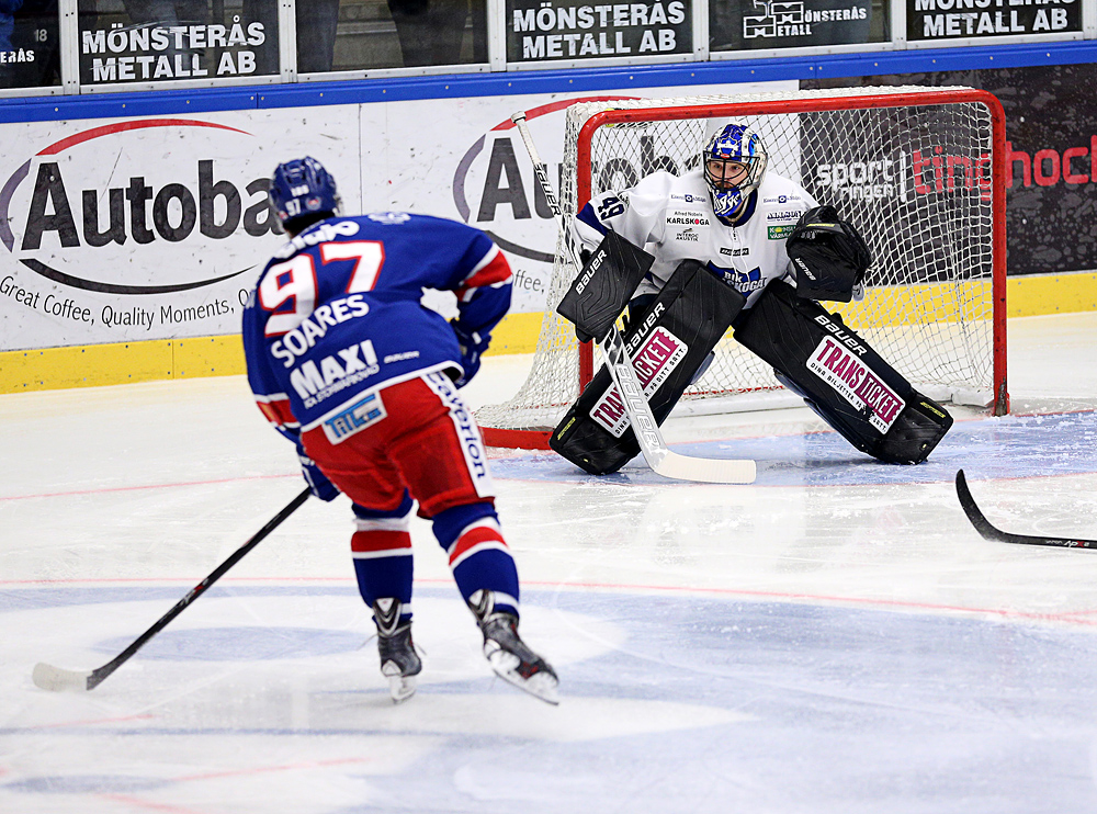 Ishockey, Hockeyallsvenskan, IK Oskarshamn- BIK Karlskoga