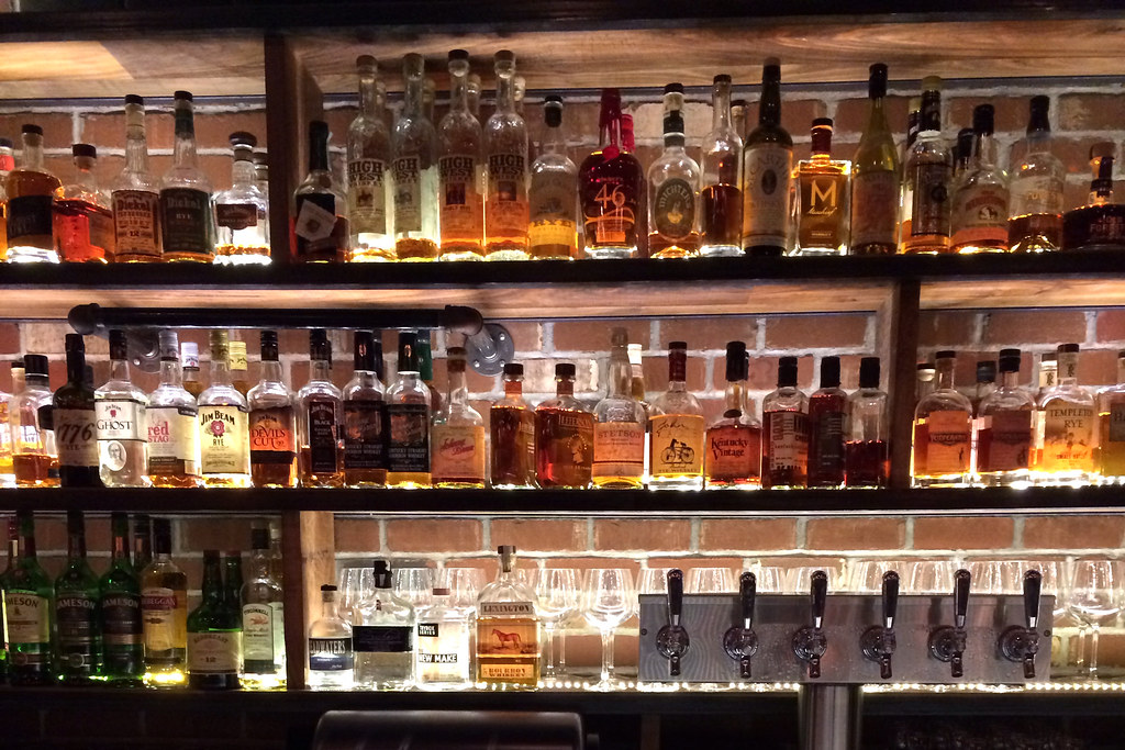 Wall of whisky