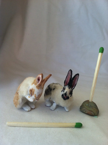 1:12 Rabbits by woolytales.com