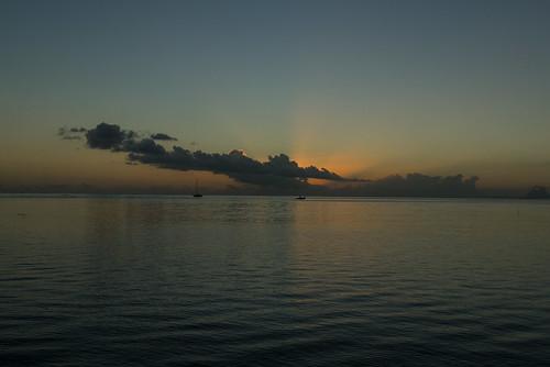 pacificocean atol frenchpolynesia raiatea uturoa leewardislands franspolynesië
