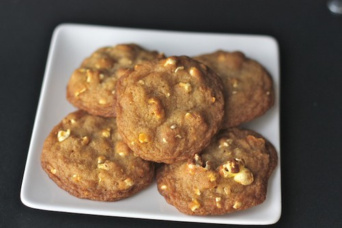 Buttered Popcorn Cookies {Guest Post by Strawberry Ginger} via LittleFerraroKitcehn.com