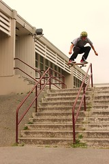 Andy Anderson - Ollie 10 Stair Rail - Burnaby