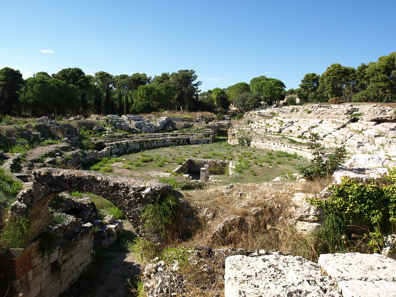 Roman amphitheater of Siracusa